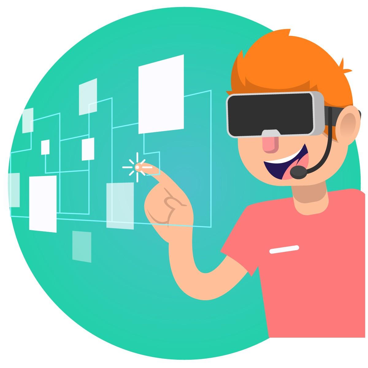 Virtual Reality Animated