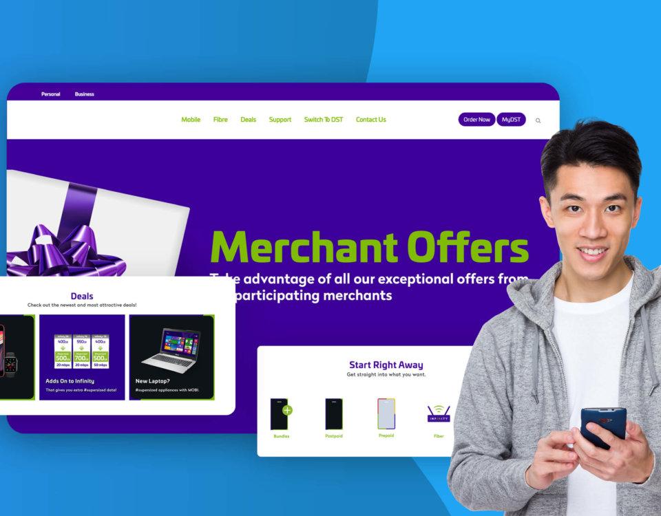 telecom website revamp