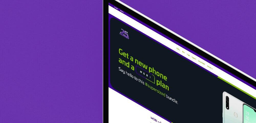 telco website