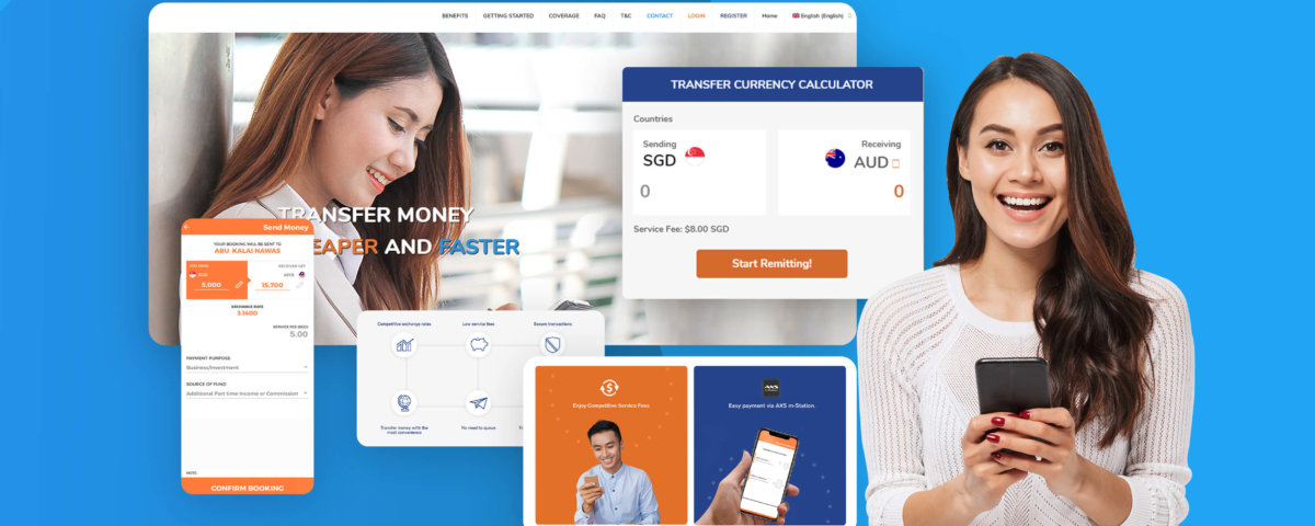 online remittance ux design