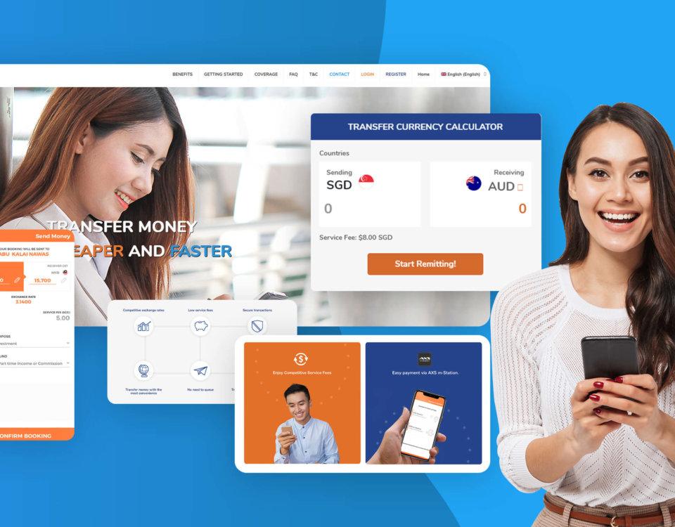 online remittance ux design