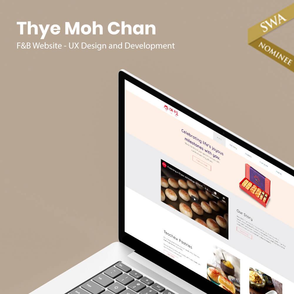 Thye Moh Chan Website Design
