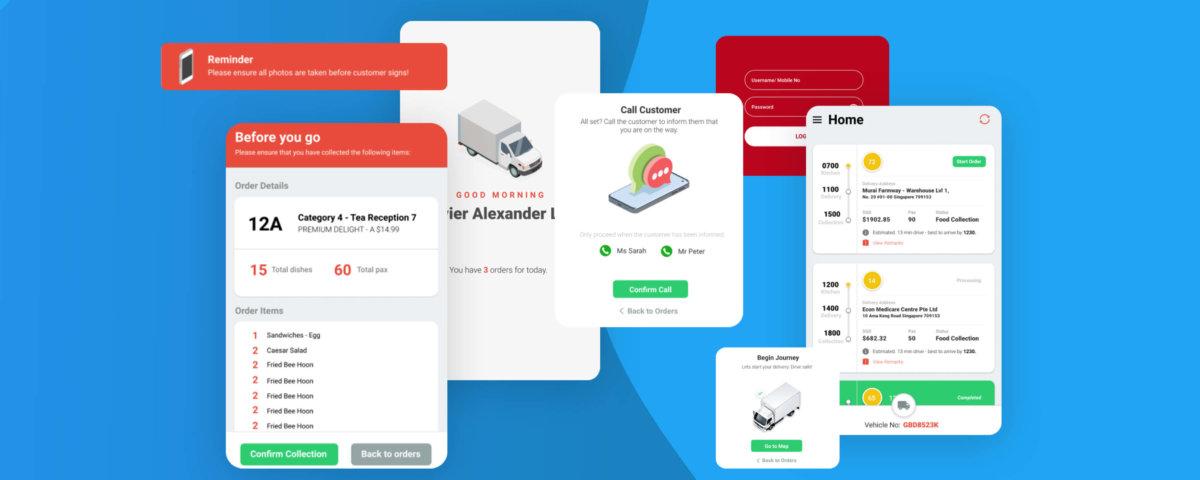 food delivery app ux design
