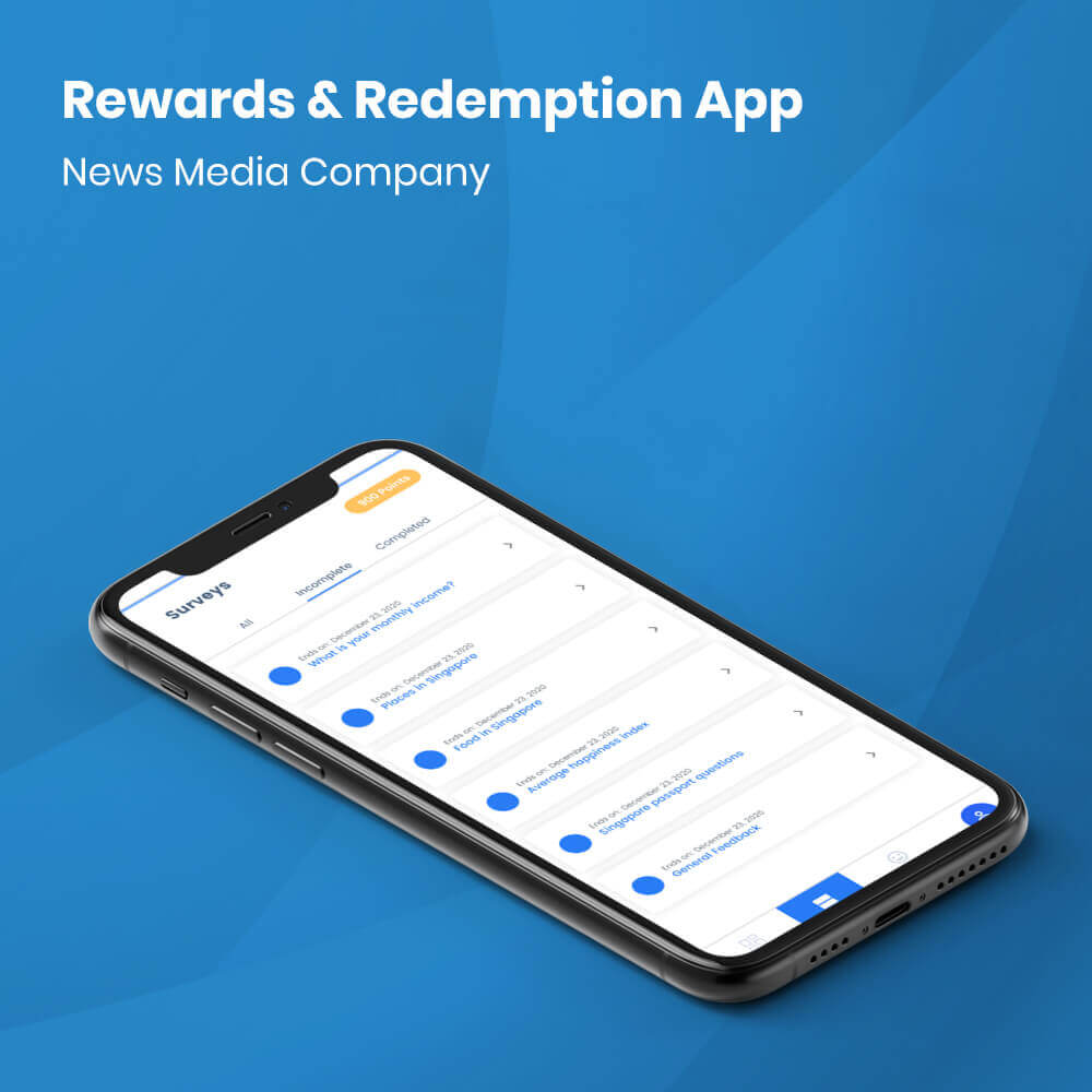 Rewards and Redemption Mobile App Development