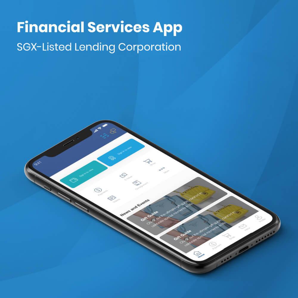 SGX lending Corporation Mobile app Development