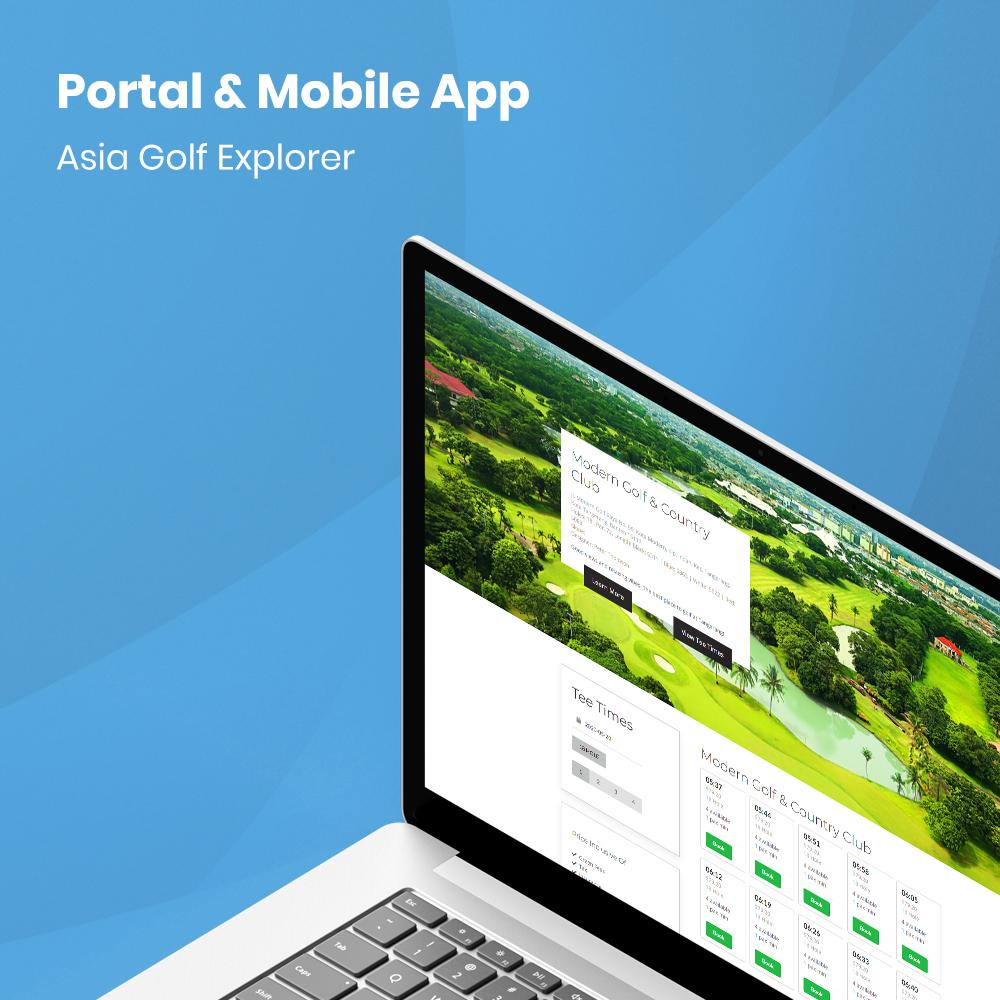 asia golf explorer system portal
