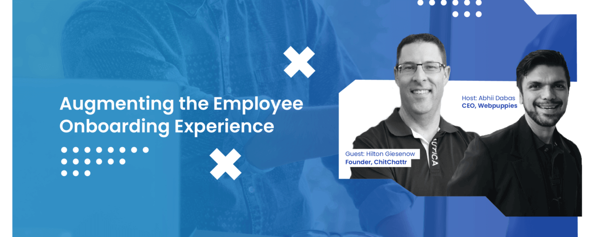 Augmenting the Employee Onboarding Experience